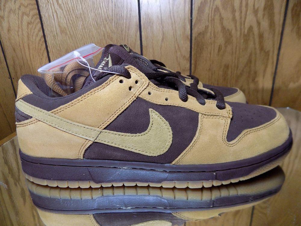 c6c24b143667 2003 Nike Dunk Low Pro SB BAROQUE BROWN PACK HAY MAPLE WHEAT GUM 304292-221