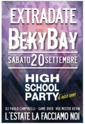 High School Party al Beky Bay http://ow.ly/B8WUT