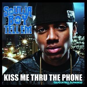 Soulja Boy, Sammie, Pitbull – Kiss Me thru the Phone (single cover art)