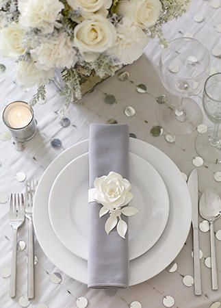15 chic ways to use paper flowers at your wedding rock flowers 10 cool ways to rock paper flowers at your wedding theknot mightylinksfo