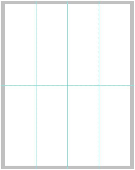 Blank Bookmark Template for Word | This is a blank template that ...