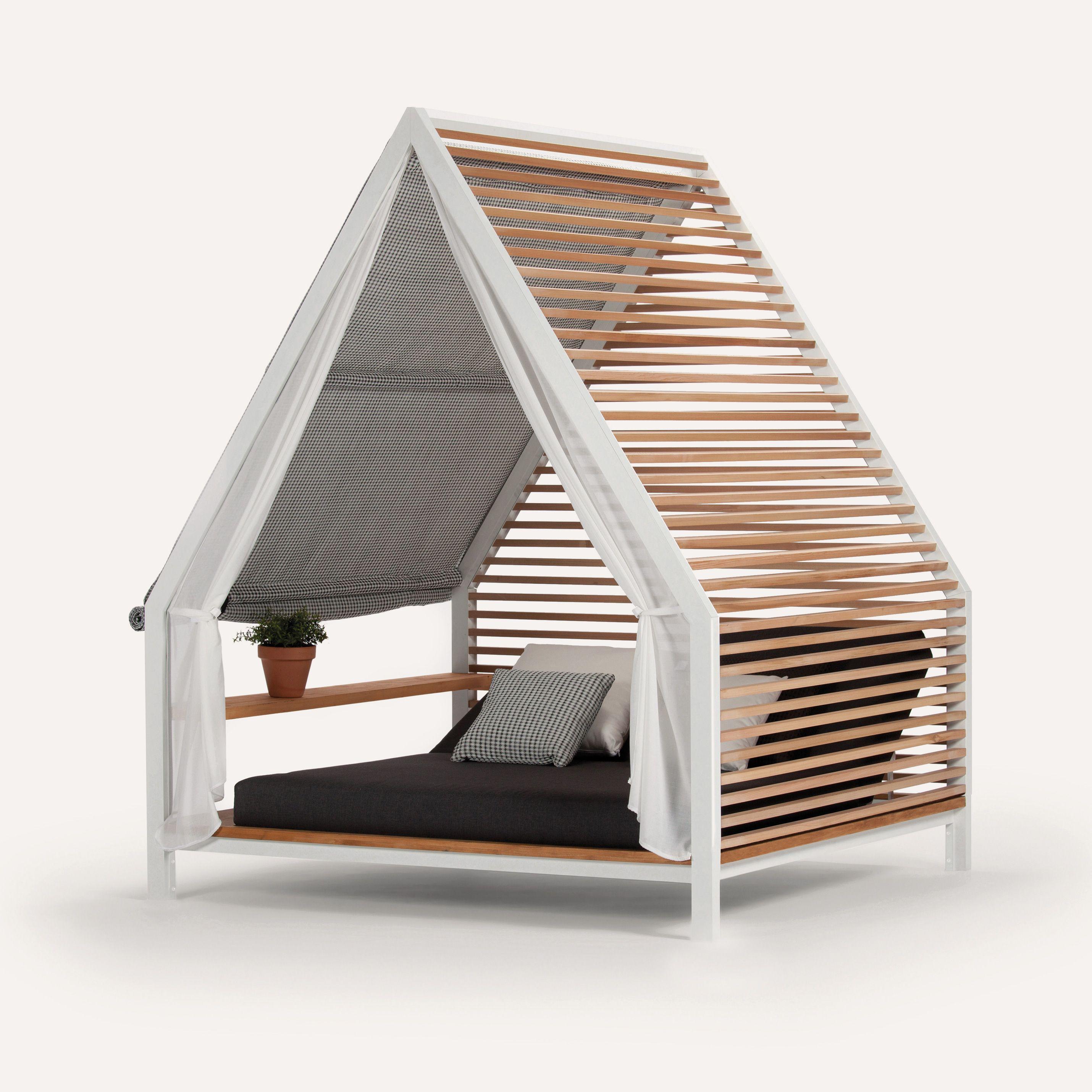 kettal cottage daybed outdoor ideas pinterest gartenprojekte ideen f r den garten und. Black Bedroom Furniture Sets. Home Design Ideas