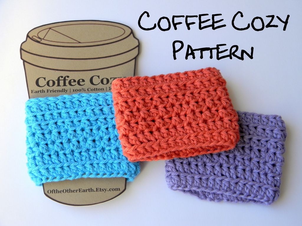 Crochet Coffee Cup Sleeve Free Pattern Crochet Coffee Cup Cozy