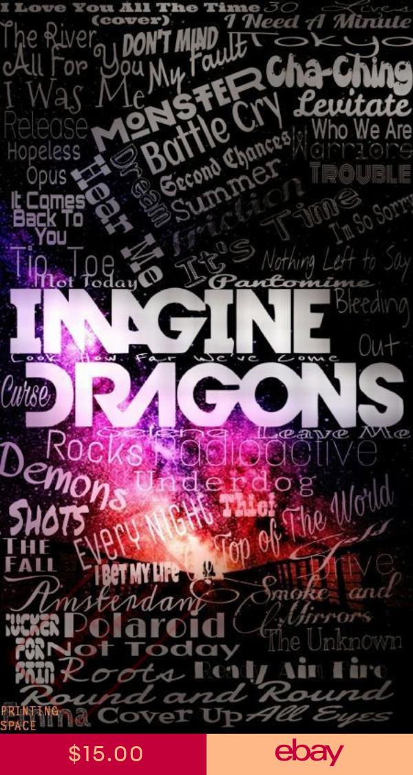 imagine dragons poster multiple sizes