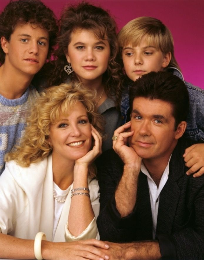 Growing Pains cast in 1987
