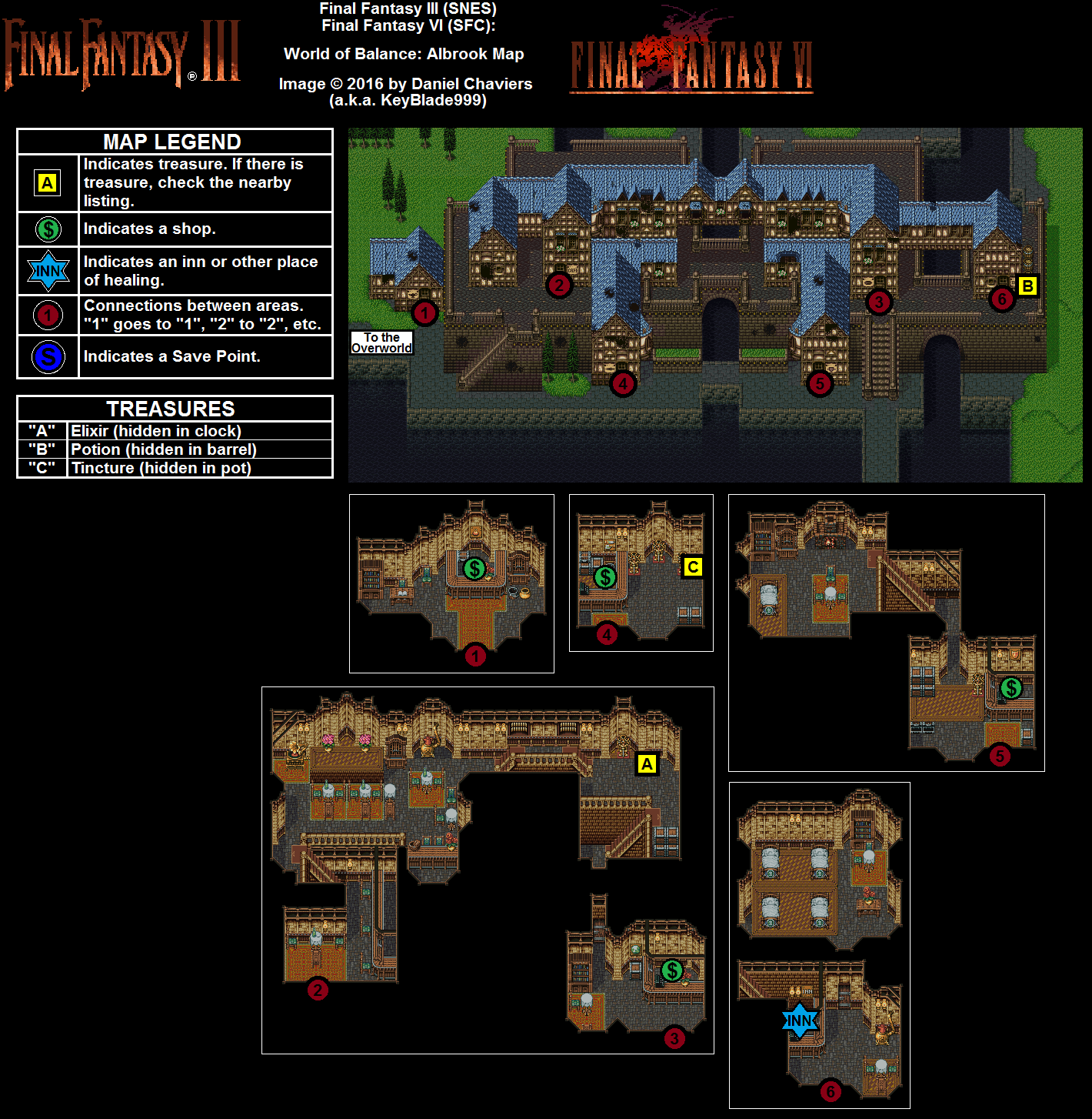 Final fantasy 6 vi ff6 world maps – Artofit