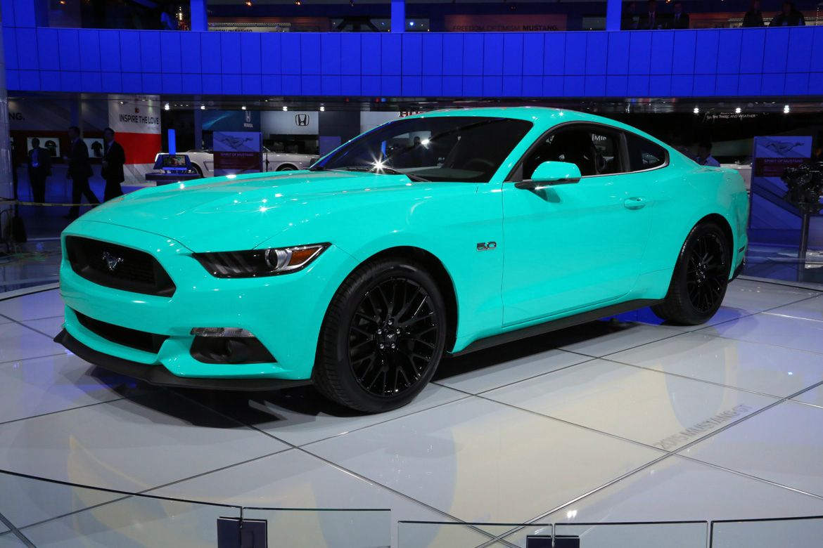 2017 Ford Mustang In This Color