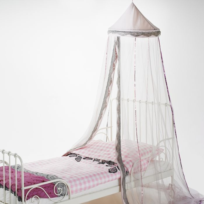 Create a bedroom fit for a princess with the TISSLA canopy ~ A ...