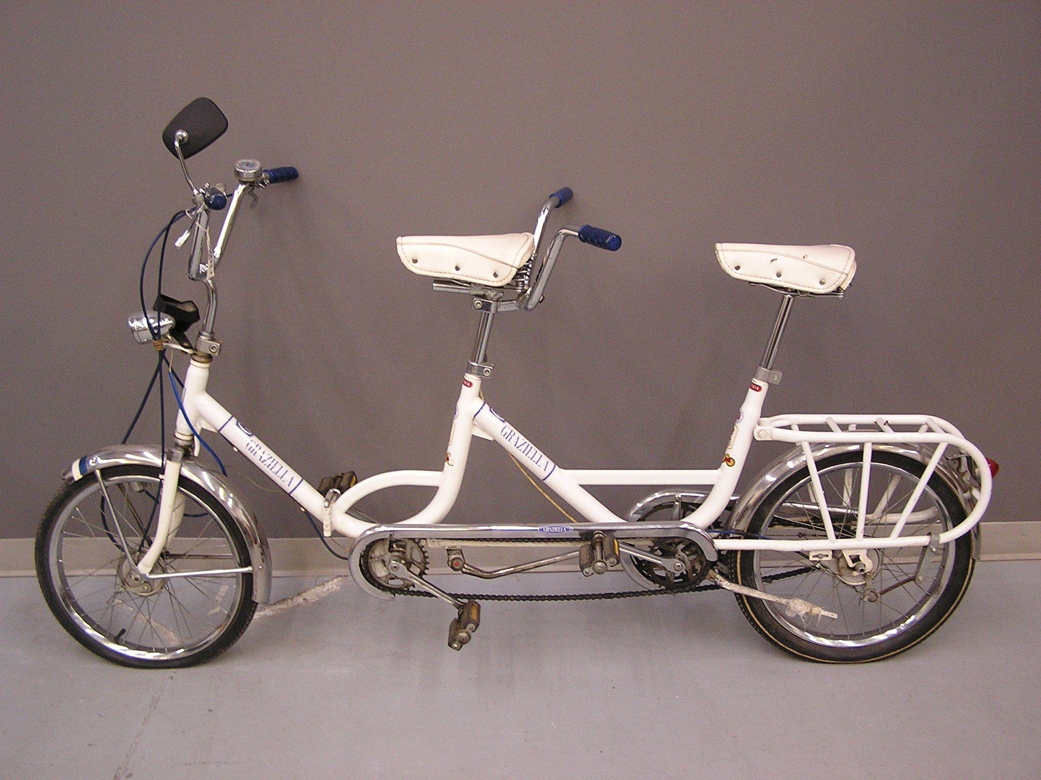 1970 carnielli graziella tandem bicycle bicyclette for Graziella sport