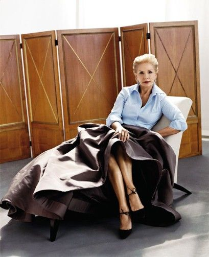 'I can get ready in 10 minutes'  Elegance is a state of mind, says Carolina Herrera.