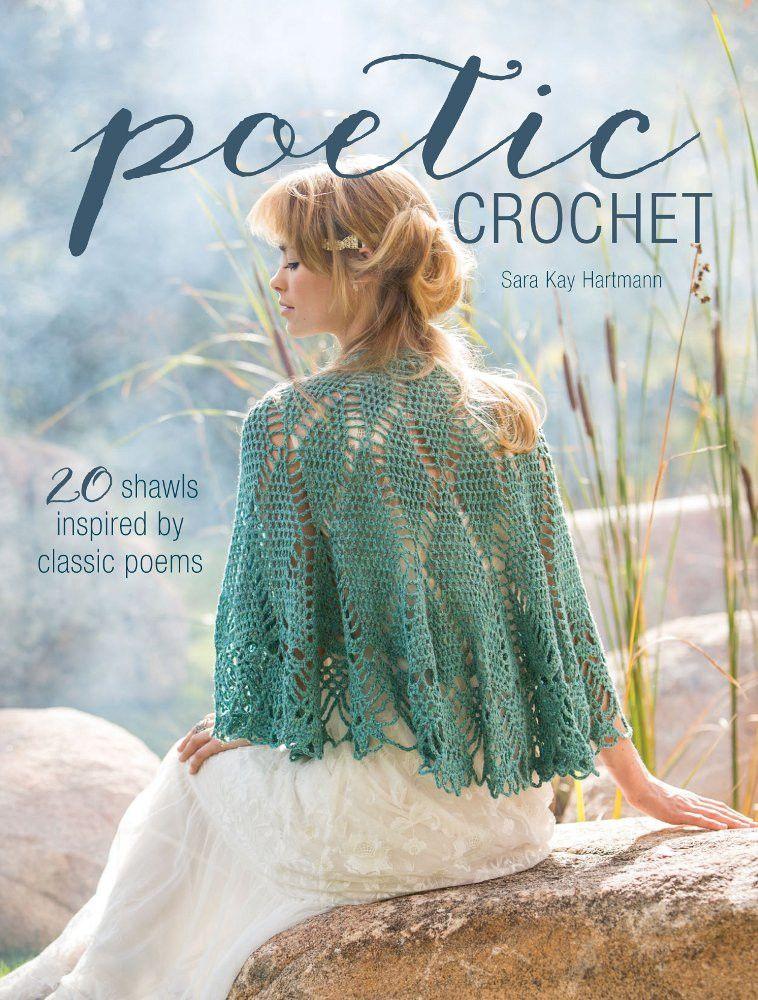 Ganchillo envoltura de Sara Kay Hartmann - Daliute - | chal crochet ...