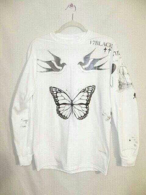 Harry styles tattoos on to a sweater! how cool is that