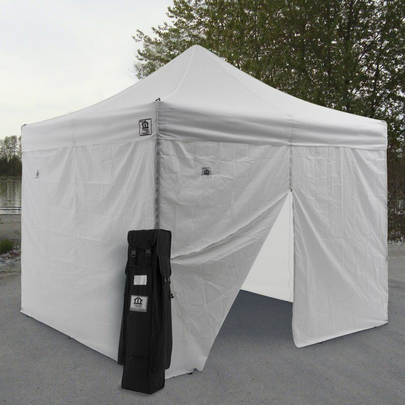 Ez Pop Up Canopy Tent Instant Canopy Aluminum with Wheeled Roller Bag and Sidewalls - The water-resistant and UV-coated Impact Canopy AOL ft. & Impact Canopy AOL 10x10 ft. Ez Pop Up Canopy Tent Instant Canopy ...
