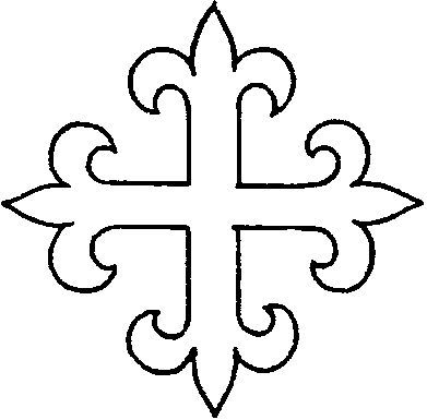 Ecclesiastical & Church Embroidery Patterns: Crosses