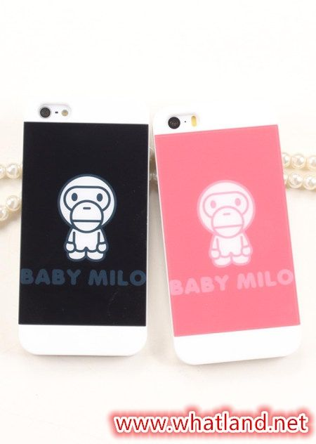 Baby Milo Monkey Case Cover for iPhone 5S iPhone 6 iPhone 6 Plus