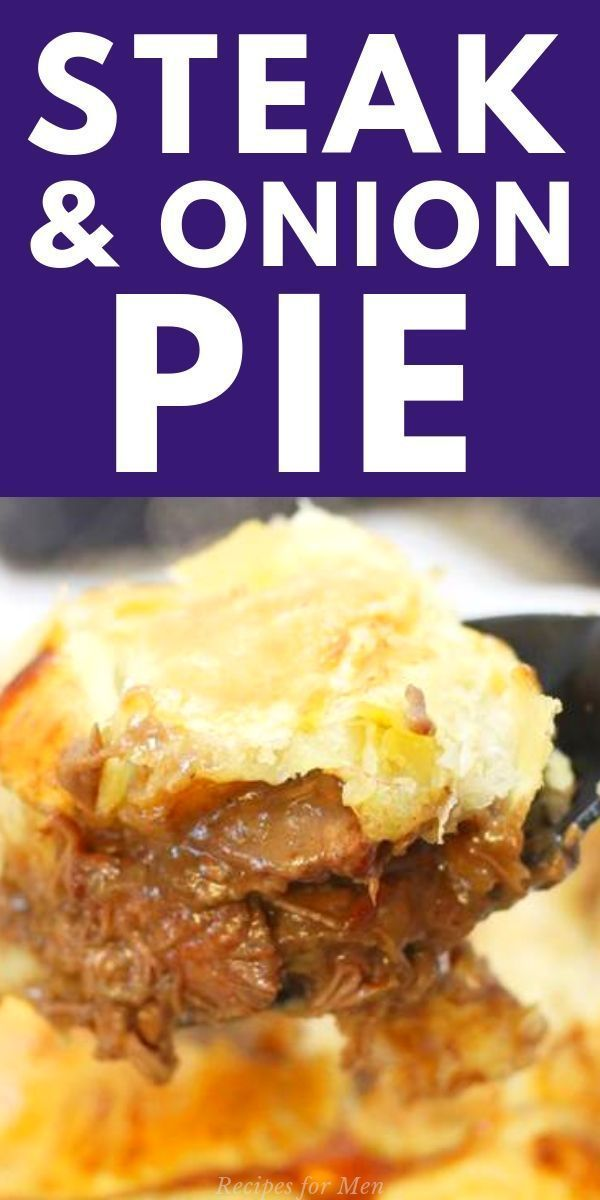 Delicious steak and onion pie, steak and onion pie puff ...