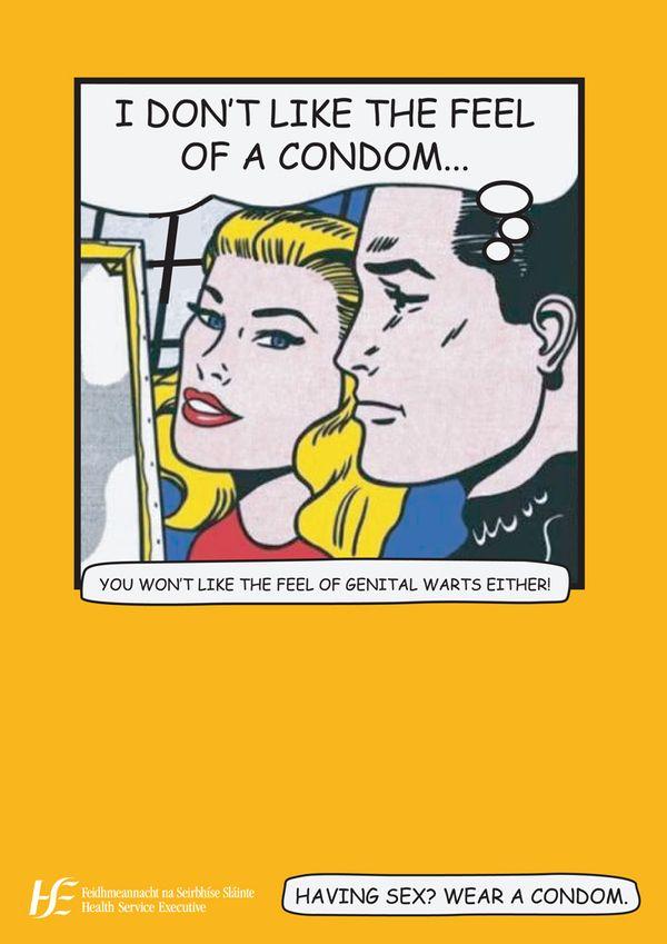 std awareness posters hse condoms education amp health