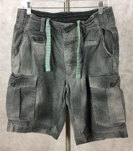 0eb8534877 DIVIDED H & M black gray Camo Cargo Shorts Size 30mens Cotton short. T-1