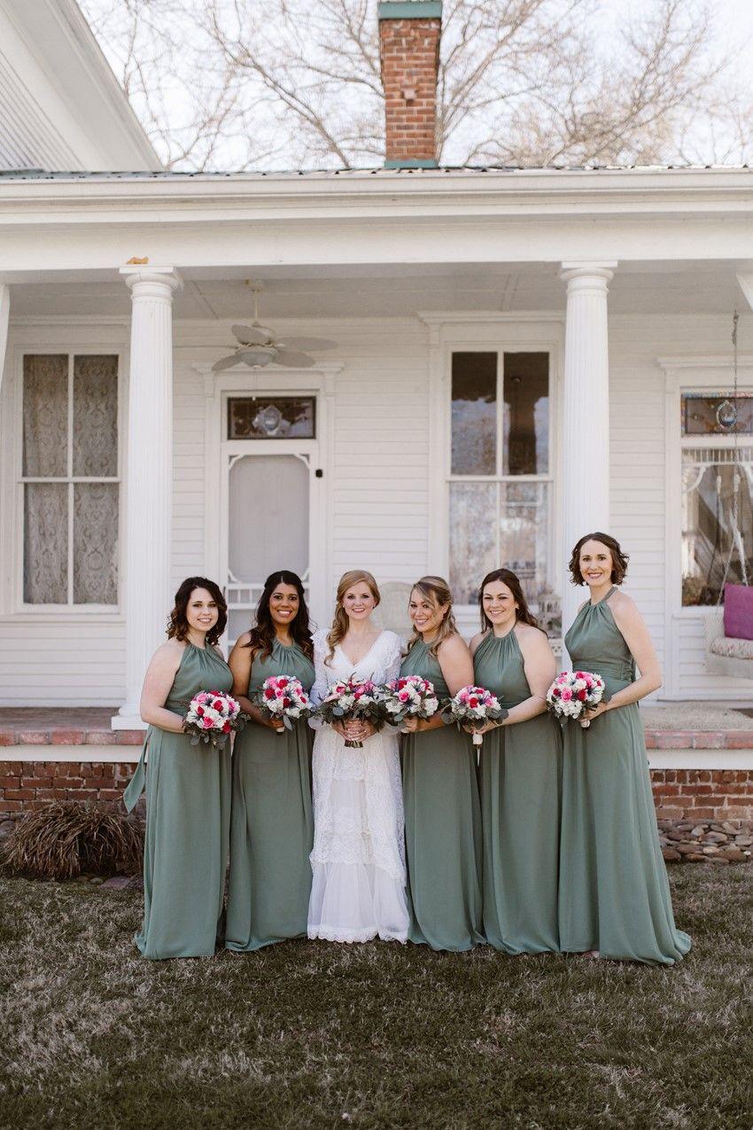 Evergreen Bridesmaid Dresses