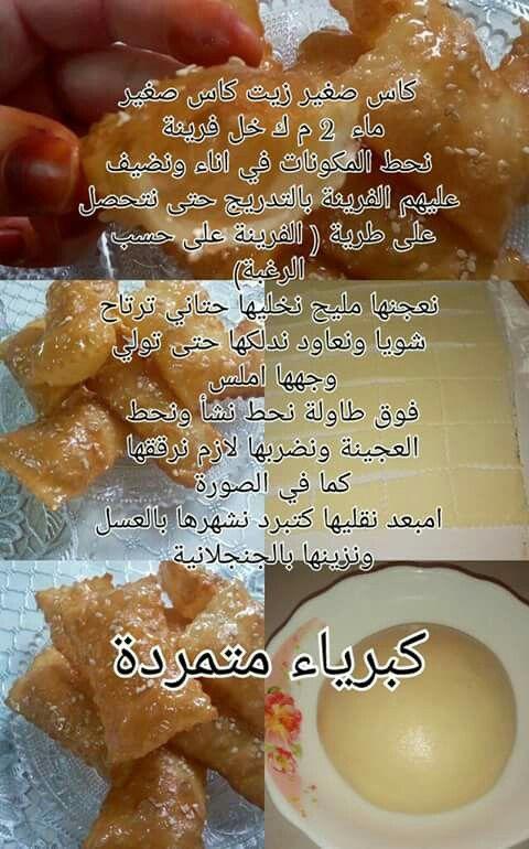 Recette Egyptian Desserts Ramadan Recipes Food Receipes