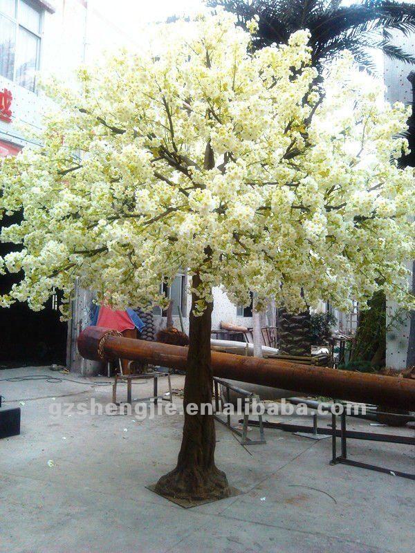 High Imitation Artificial Cherry Blossom Trees / Artificial Flower ...