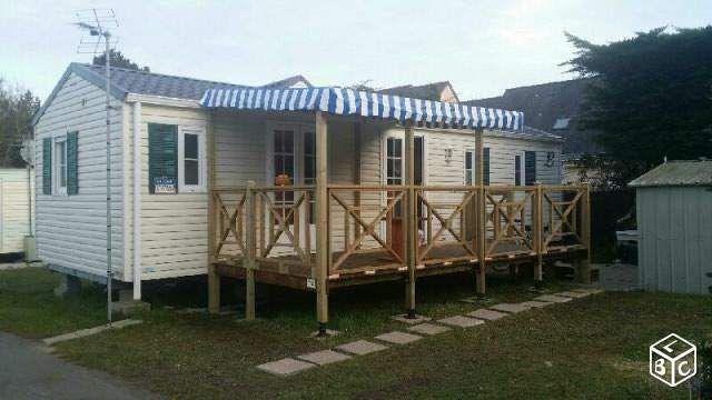 mobil home 40m2 aux flots bleus piriac sur mer campings loire atlantique all. Black Bedroom Furniture Sets. Home Design Ideas