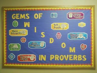 Bible Fun For Kids: Random Adult Bible Bulletin Boards