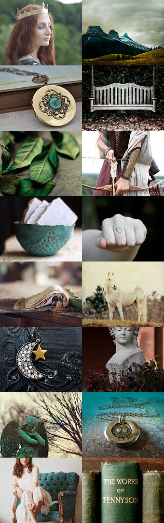 Emerald Realm by Nancy Kay on Etsy #fairytales