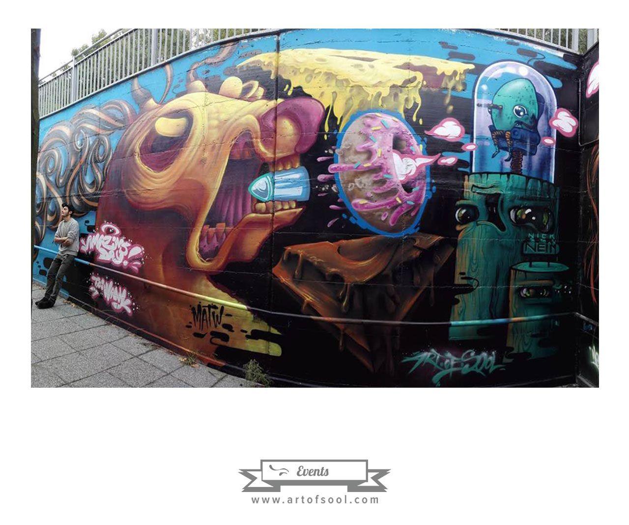 Wall @Amazing Day '16 - Milano on Behance