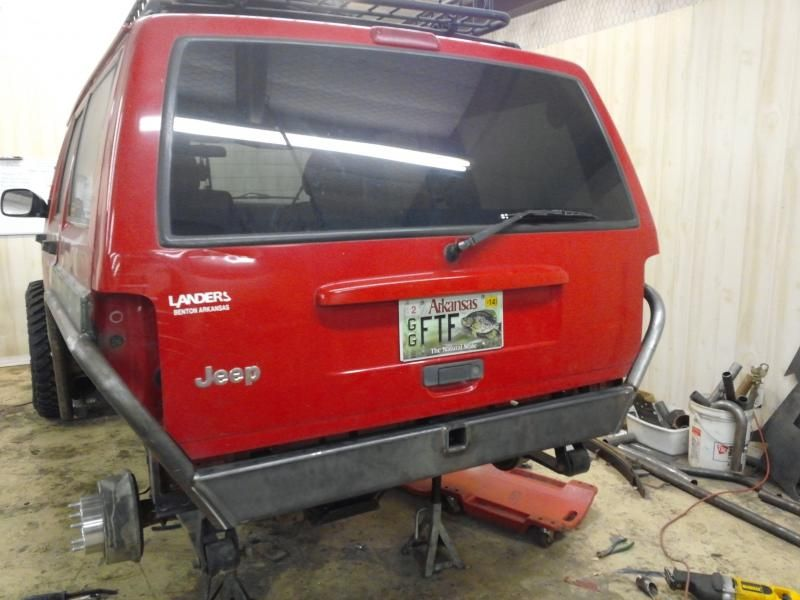 cutting out the rear fenders - Pirate4x4.Com : 4x4 and Off