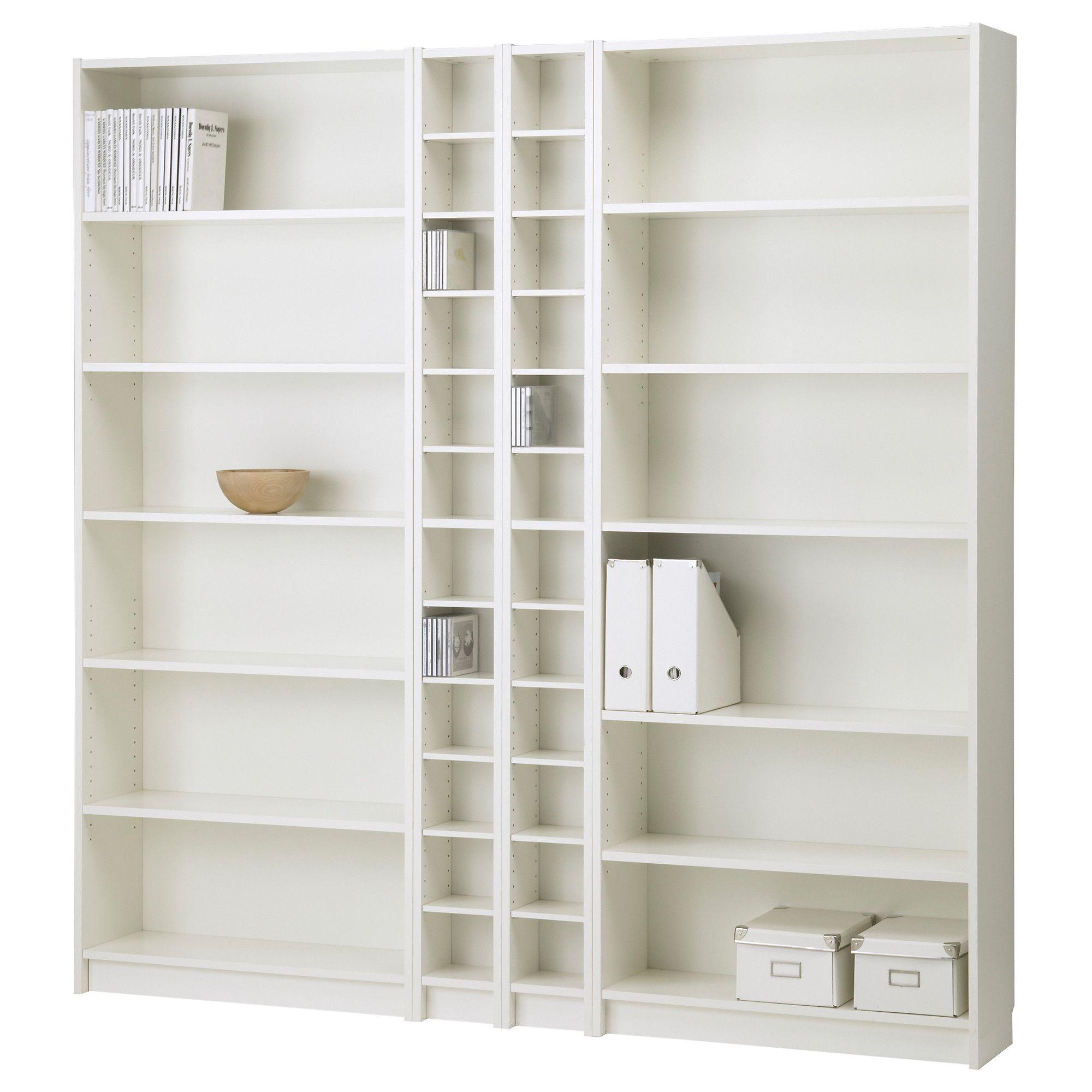 BILLY/BENNO Bookcase combination - white - IKEA  78 3/4 x 79 1/2  $197