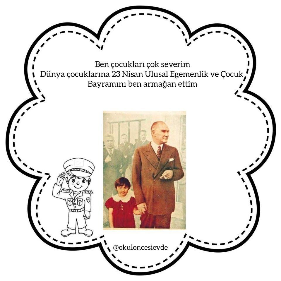 Ataturk Boyama Sayfalari Ataturk Cicegi Faaliyetler