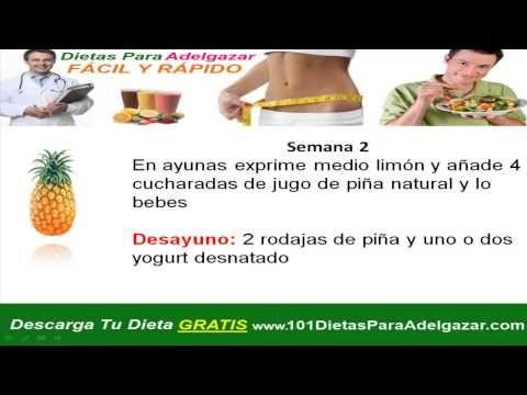 Dieta efectiva para bajar de peso sin efecto rebote