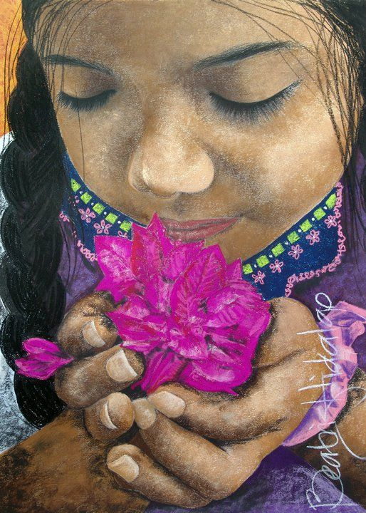Beatriz Hidalgo De La Garza | Mexican Portrait painter | Soul of Mexico | Tutt'