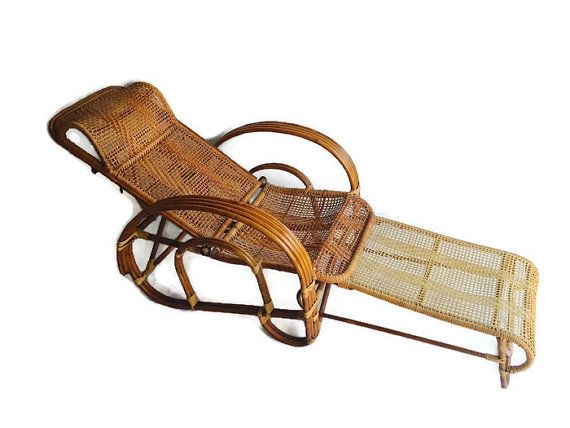 Ordinaire Vintage Bamboo Lounge Chair Arm Chair Cane U0026 Rattan By Studio180