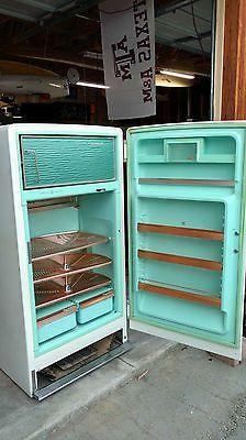 1955 Ge Vintage Refrigerator Vintage Refrigerator Refrigerator