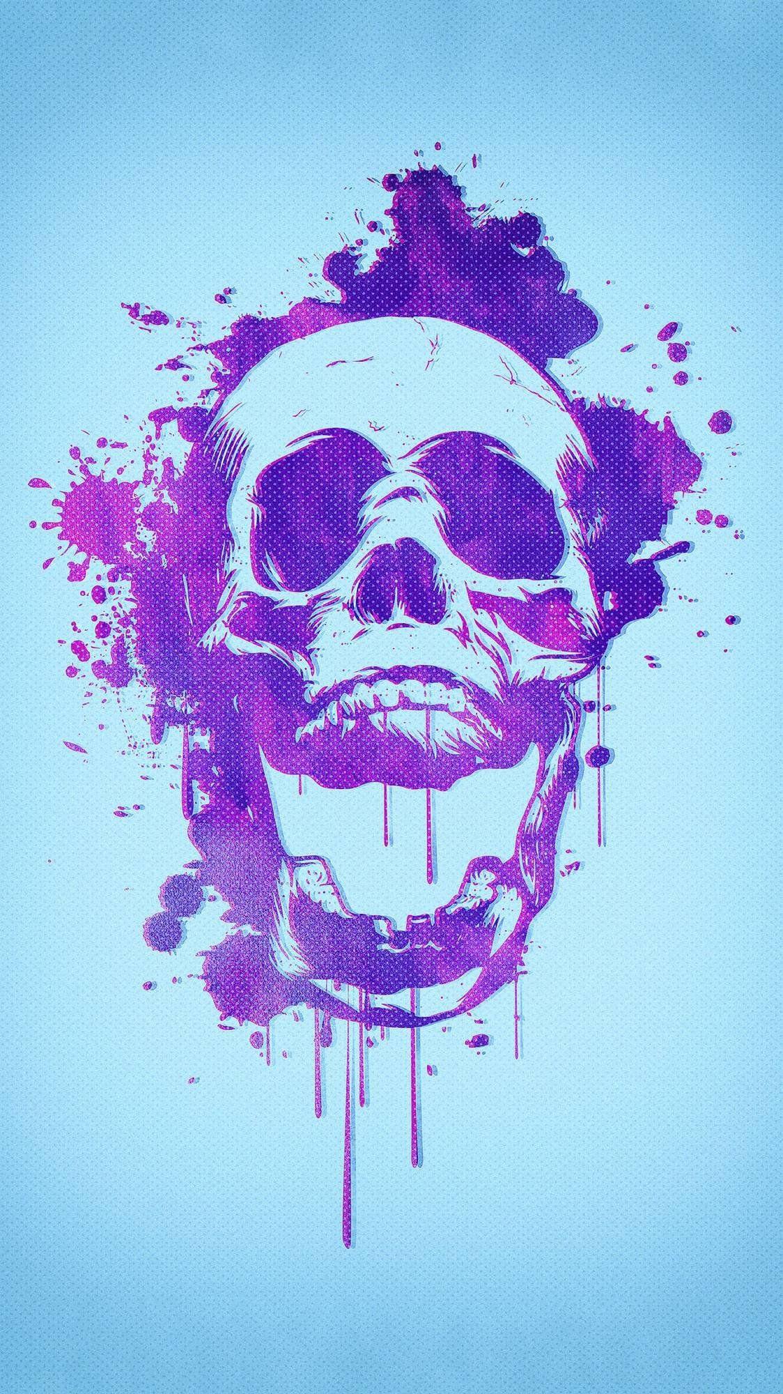 Skull By Philipp Rietz Mobilewallpaper Skull Wallpaper Skull Wallpaper Iphone Phone Wallpaper