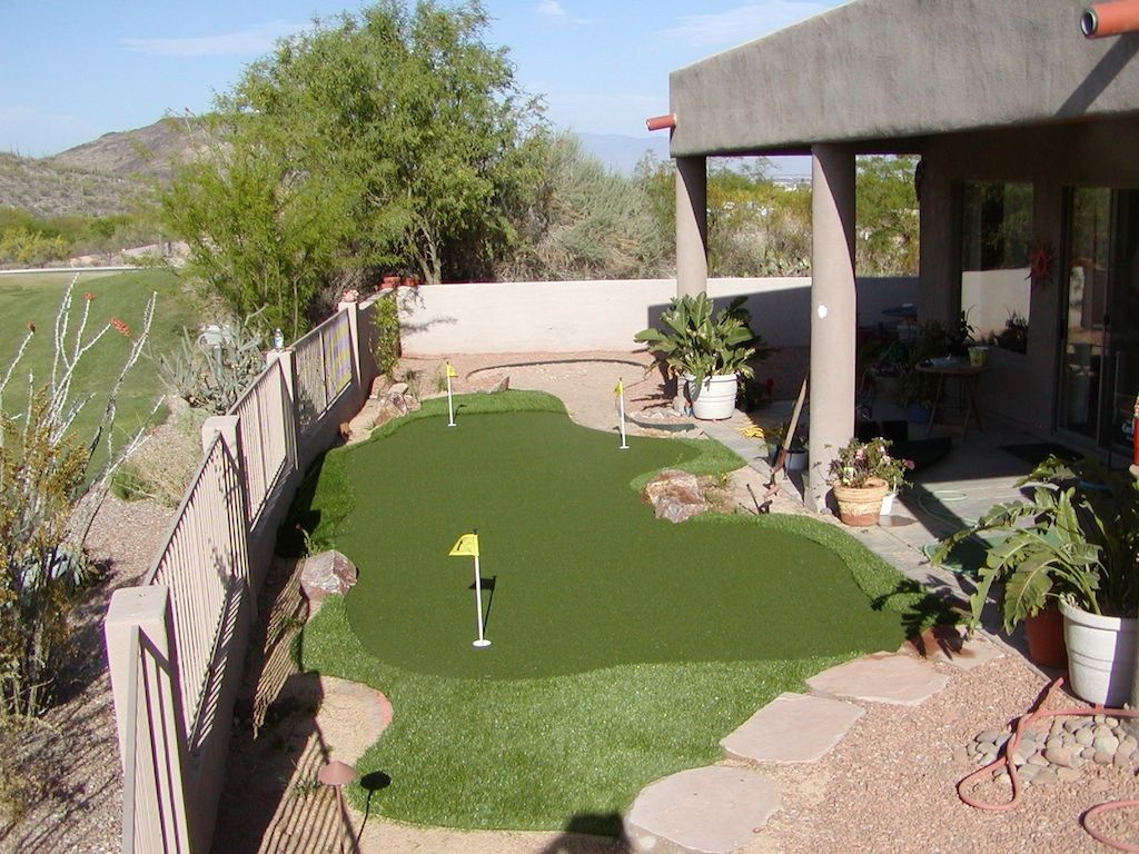 backyard putting green dream home pinterest backyard golf