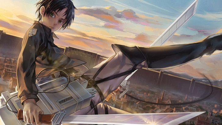 Eren 3d Maneuver Gear Blades Aot Anime Wallpaper Attack On Titan Shingeki No Kyojin Gambar