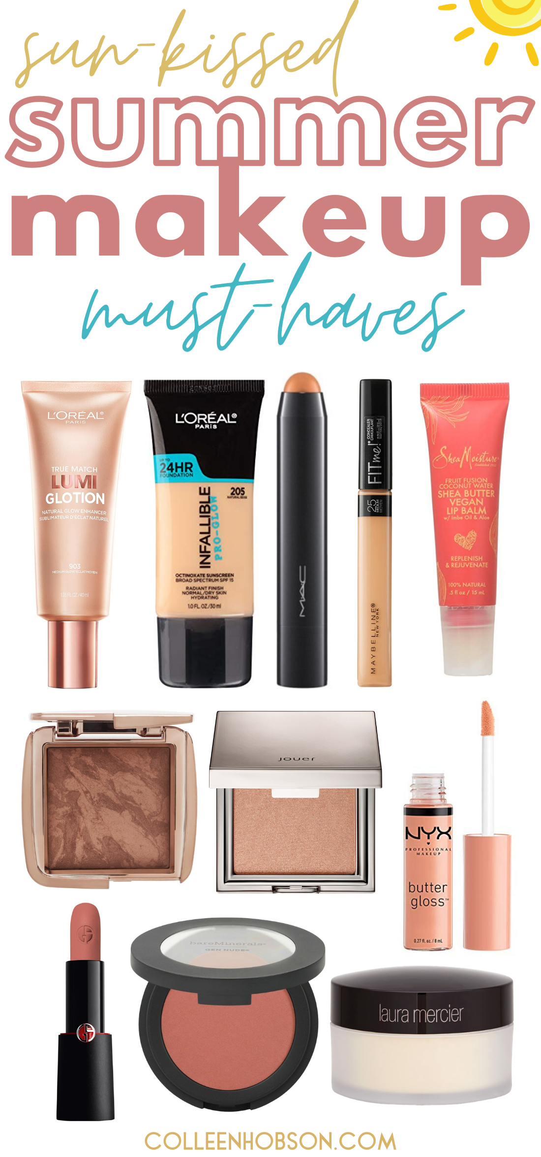 Summer Makeup Must Haves and Tutorial in 2020 Summer