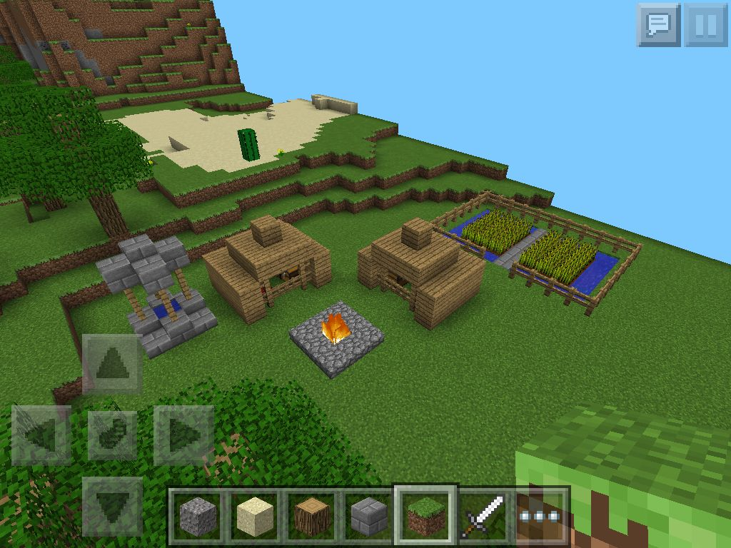 Indian Village I made in Minecraft! | Minecraft | Indian village