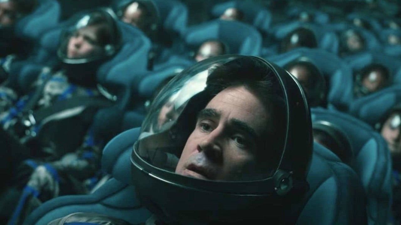 Voyagers Exclusive Images From New Colin Farrell Sci Fi Thriller Ign In 2021 Sci Fi Thriller Colin Farrell We Movie