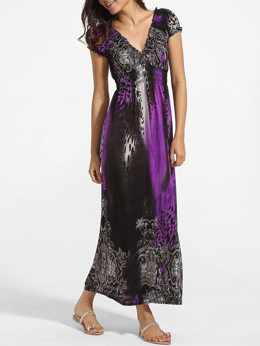Adorewe fashionmia fashionmiadesigner womens falbala v neck