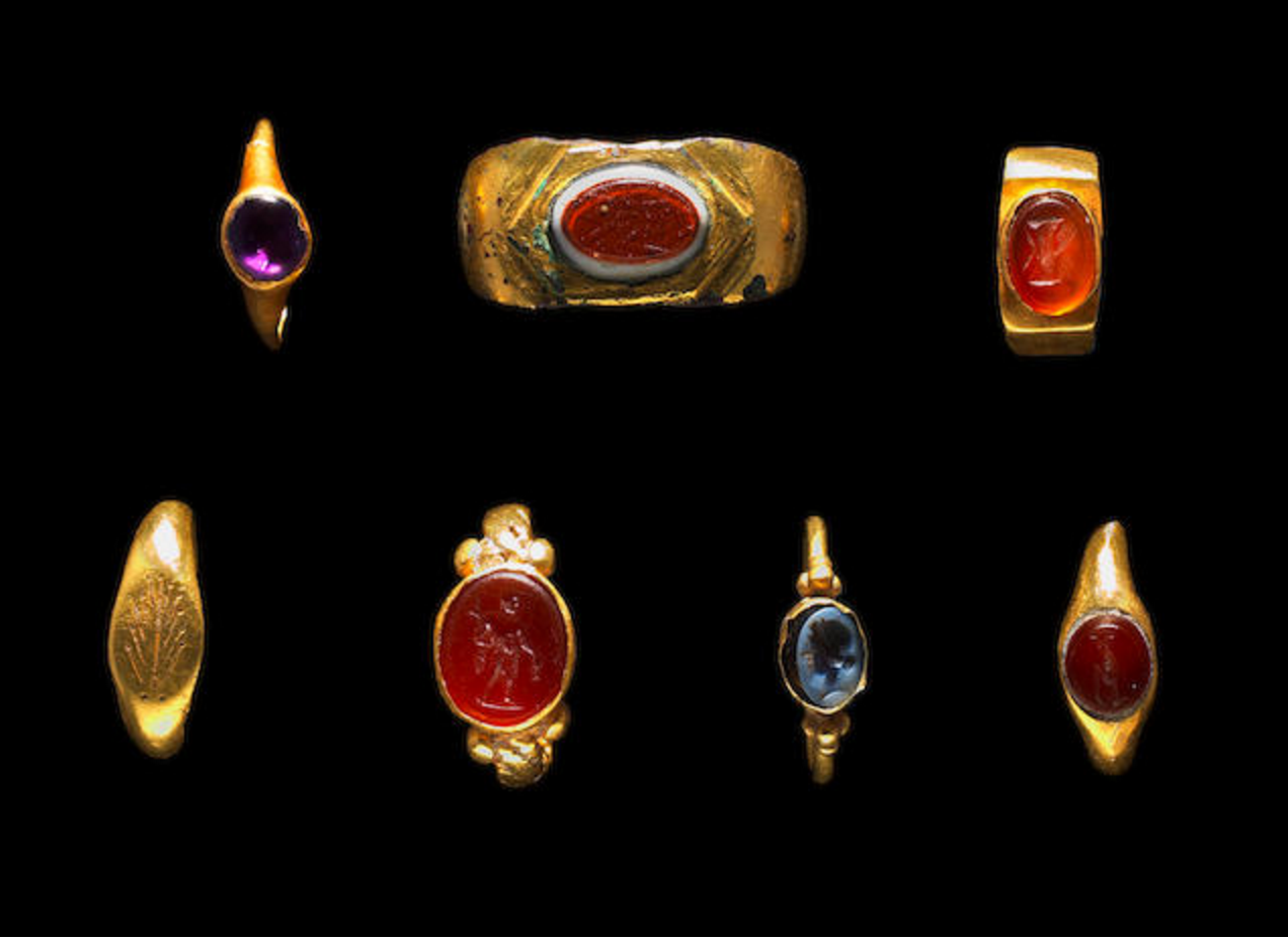 Ancient Roman Rings roman rings.