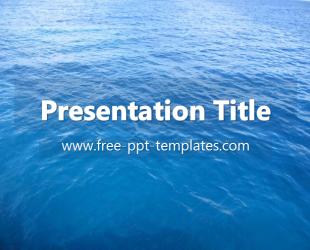Ocean ppt template free powerpoint templates ppt template ocean ppt template free powerpoint templates toneelgroepblik Images