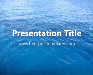 ocean ppt template free powerpoint templates ppt template