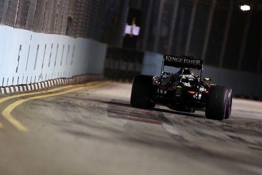 セルジオ・ペレス、8グリッド降格ペナルティ / F1シンガポールGP  [F1 / Formula 1]