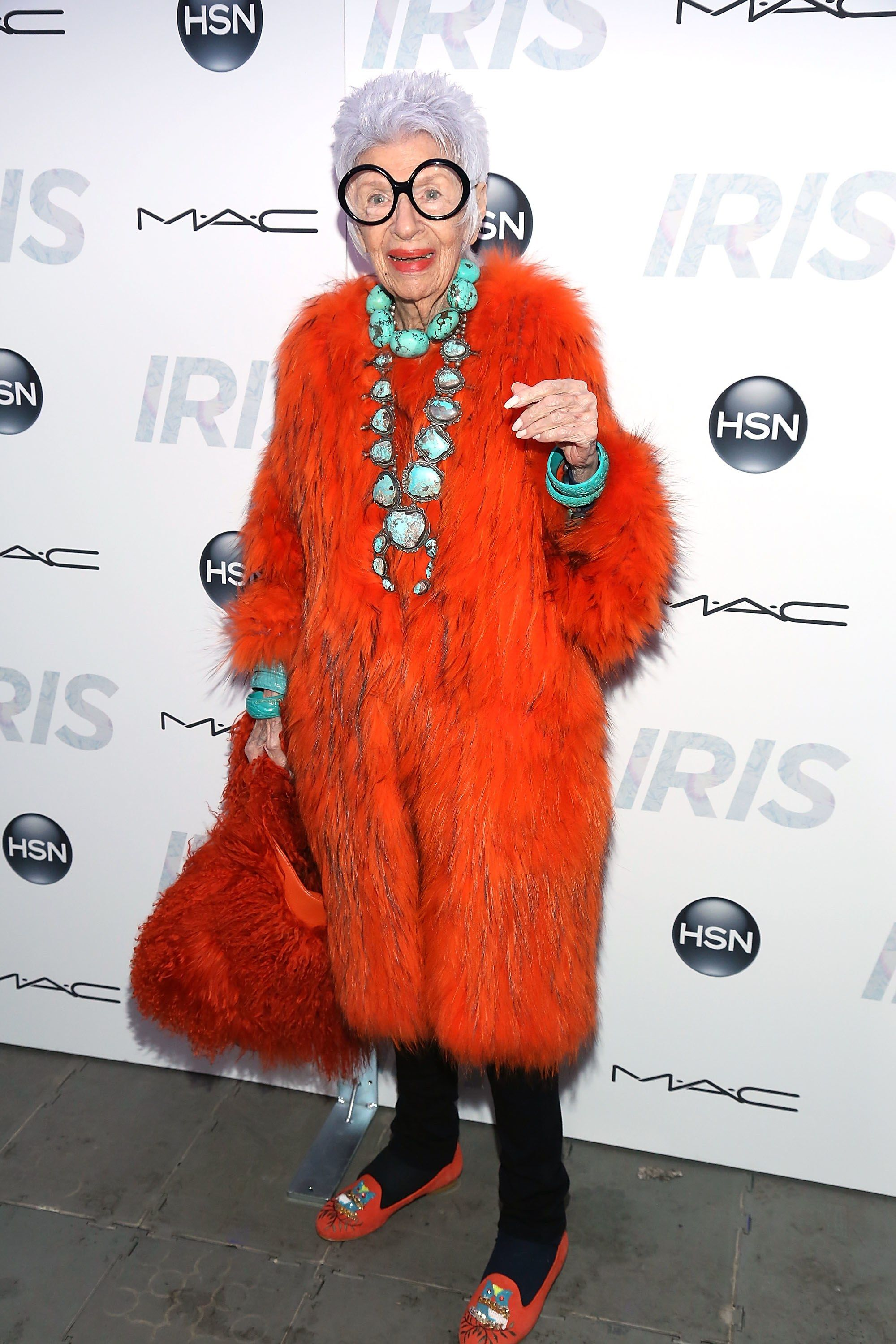 Iris Apfel Turns 96 A Look Back At the Fashion Icon's