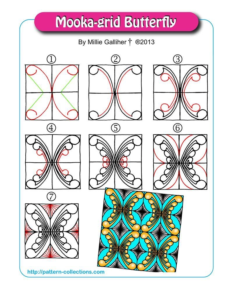 Pin de Martine Cattaneo en zentangle Pinterest Estampados