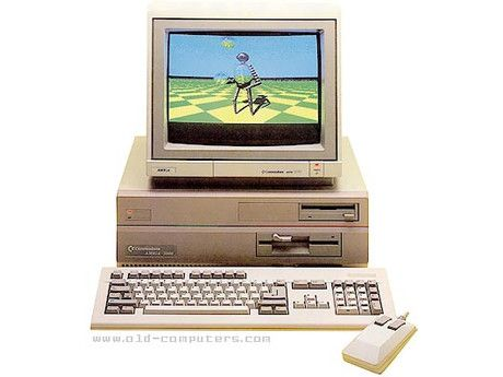 """The Amiga 2000, or A2000, is a personal computer released by Commodore in March 1987. It was introduced as a """"big box"""" expandable variant of the Amiga 1000 but quickly redesigned to share most of its electronic components with the contemporary Amiga 500 for cost reduction. Price: $1,500"""